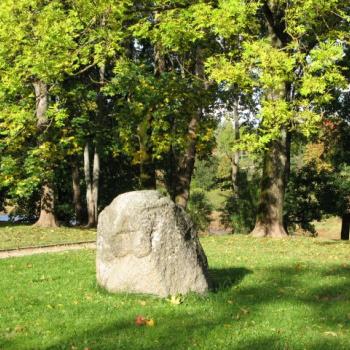 Mīlestības akmens Kuldīgā