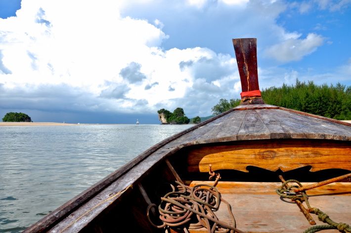Boat in Thailand, Dace & Gilles photography